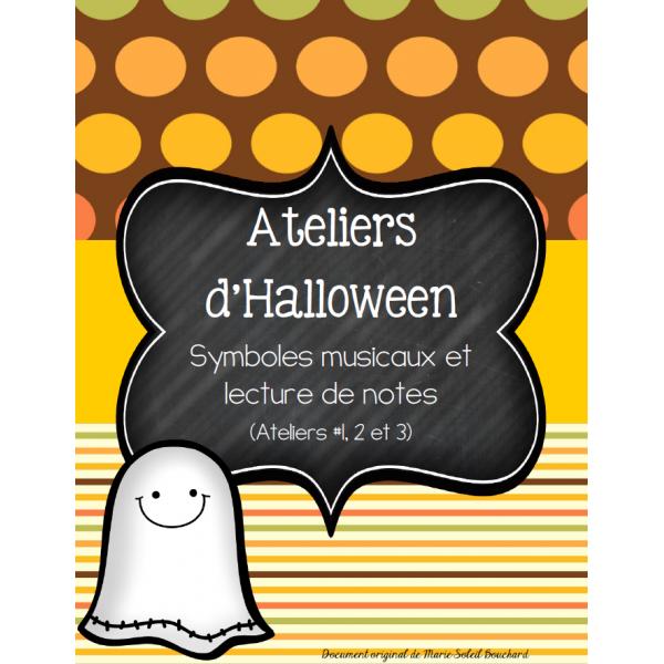 3 Ateliers Halloween: Le chant des fantômes