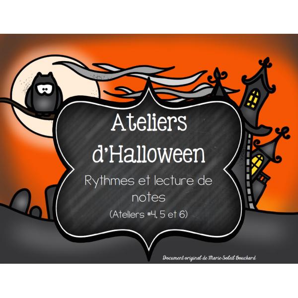 3 Ateliers d'Halloween: Dans l'antre de Franky