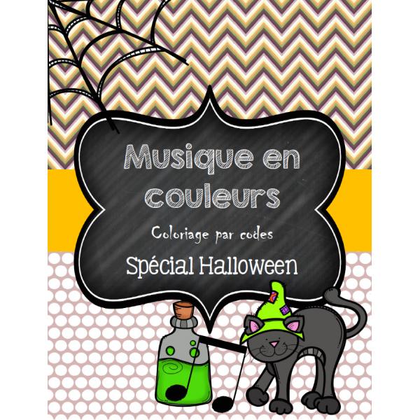 Musique en couleurs - Spécial Halloween