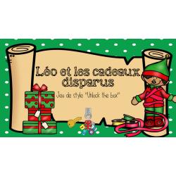 Déverrouille le coffre - 3 situations de Noël