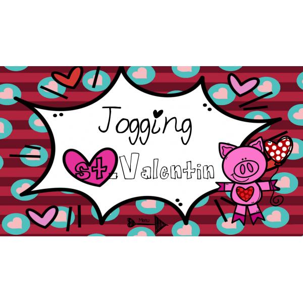 Jogging musical de la St-Valentin