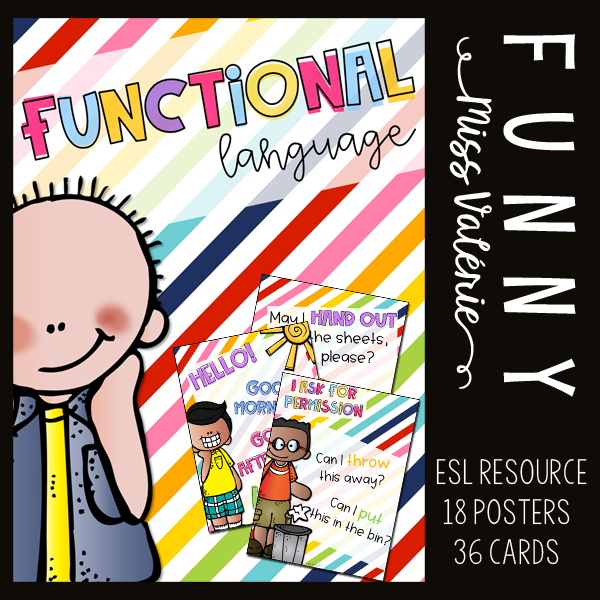 Functional language Poster set and cards