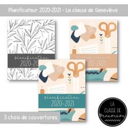 Planificateur 2020-2021 - Pour commander