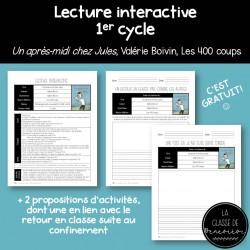Lecture interactive - 1er cycle - Retour en classe