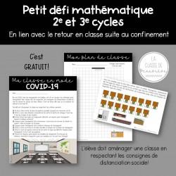 Ma classe en mode COVID-19 - Math - 2e + 3e cycles