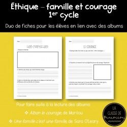 Éthique - famille et courage - 1er cycle