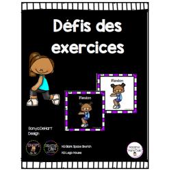 Défis des exercices