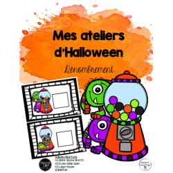 Ateliers d'Halloween - Dénombrement