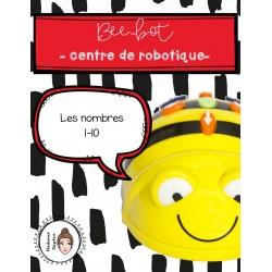 Beebot - Centre de robotique - Les nombres 1-10