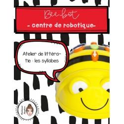 Beebot - Centre de robotique - Les syllabes