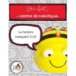 Beebot- Centre de robotique - Le nombre manquant