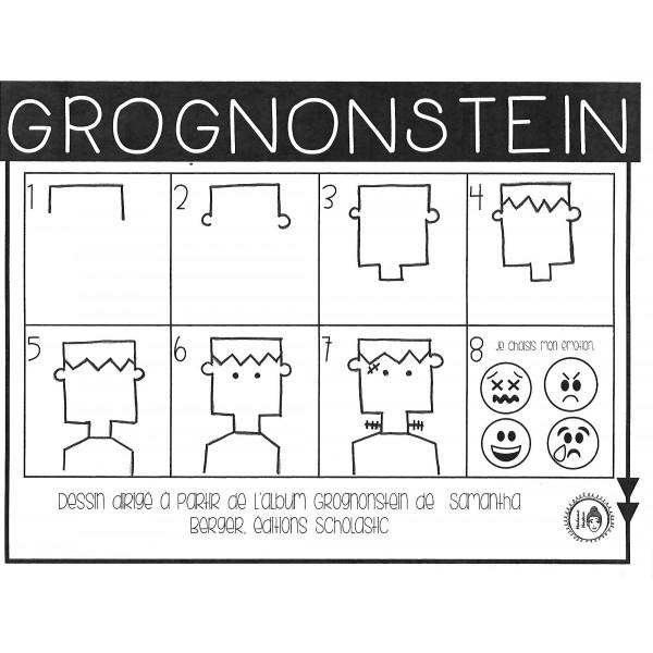 Grognonstein - dessin dirigé
