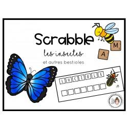 Scrabble - les insectes et autres bestioles
