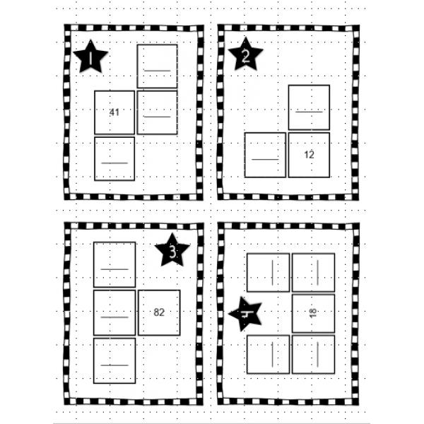 Atelier: complète la grille de nombres (1 à 115)