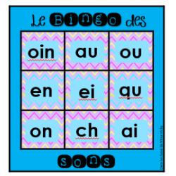 Bingo des sons et des logatomes