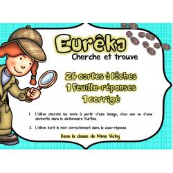 Cartes à tâches: Eurêka, cherche et trouve