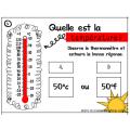 CAT: Quelle est la température?