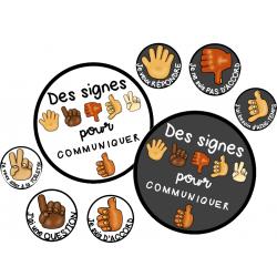 Des signes pour communiquer