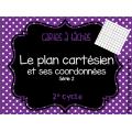 Bundle - Cartes à tâches - Plan cartésien