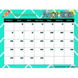 Calendrier 2016-2017