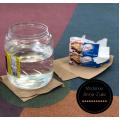 Activité de science (eau glacée et graisse)