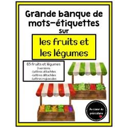 Mots-étiquettes : Fruits et légumes