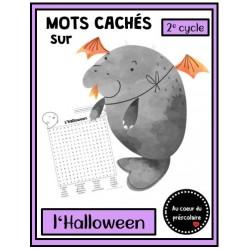 Mots cachés : Halloween - 2e cycle
