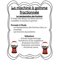 La machine à gomme fractionnée