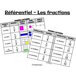 Référentiel - Les fractions