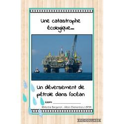 Expérience sur le pétrole dans l'océan