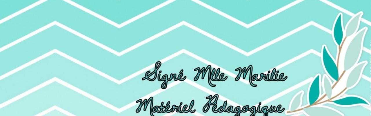 Signé Mlle Marilie