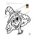 Halloween - Coloriage