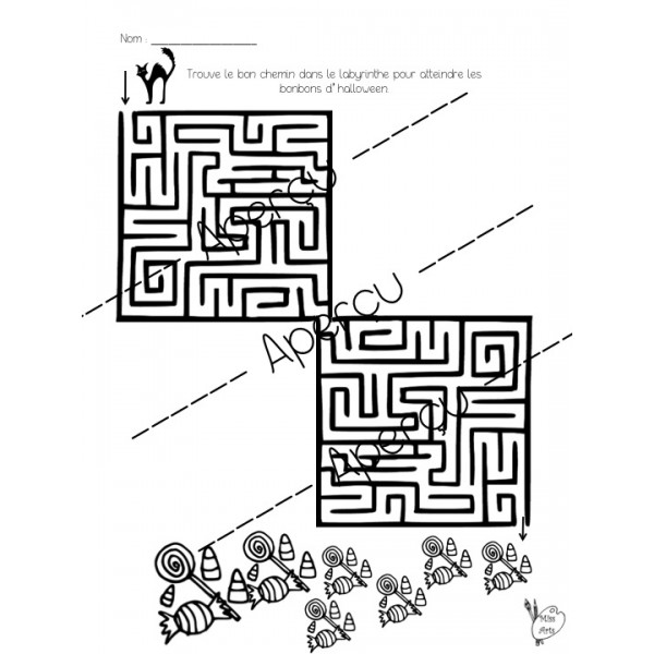 Halloween - Labyrinthe