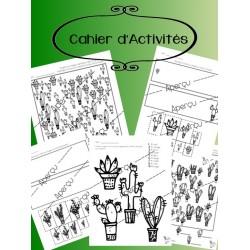 Cahier Cactus