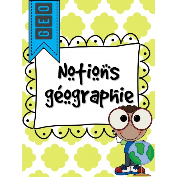 Notions géographie