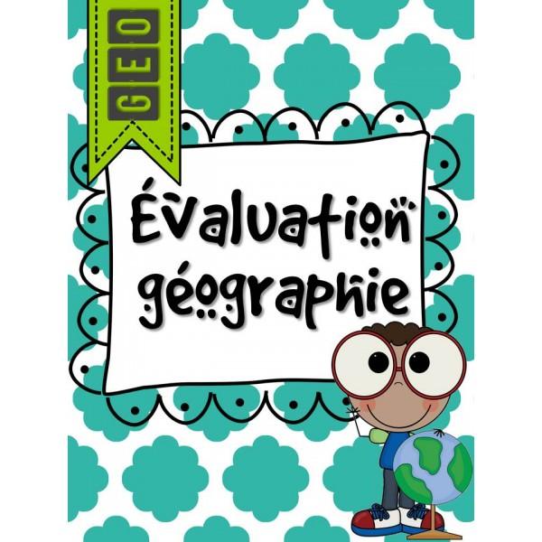 Évaluation géographie