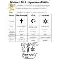 Jeu de révision : Les 3 religions monothéistes