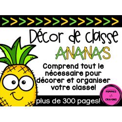 Décor de classe - Ananas