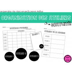 Organisation d'ateliers