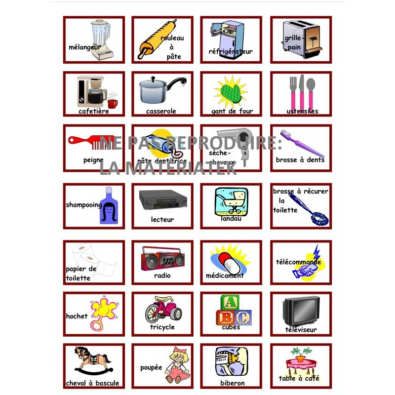 Les objets de la maison for Objets de decoration pour la maison