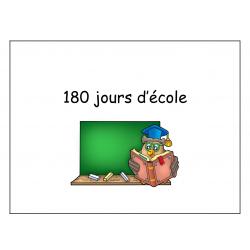 180 jours d'école