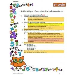 Progression des apprentissages - Cycles 1-2-3