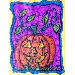 Citrouille d'halloween: projet d'arts plastiques