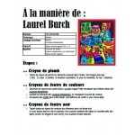 Chats à la manière de Laurel Burch