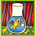 Poisson d'avril: Bocaux et poisson d'avril, arts