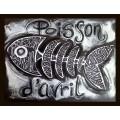 Poisson d'avril:  projet d'arts plastiques