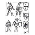 Chevalier et armure: Projet d'arts plastiques