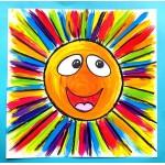 Rayons de soleil ! Arts plastiques, été