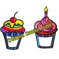 Clipart: Souligner les fêtes avec un cupcake