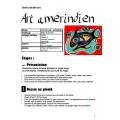 Art amérindien, projet d'arts plastiques